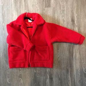 I.AM.GIA Jackets & Coats - Fuzzy teddy bear jacket